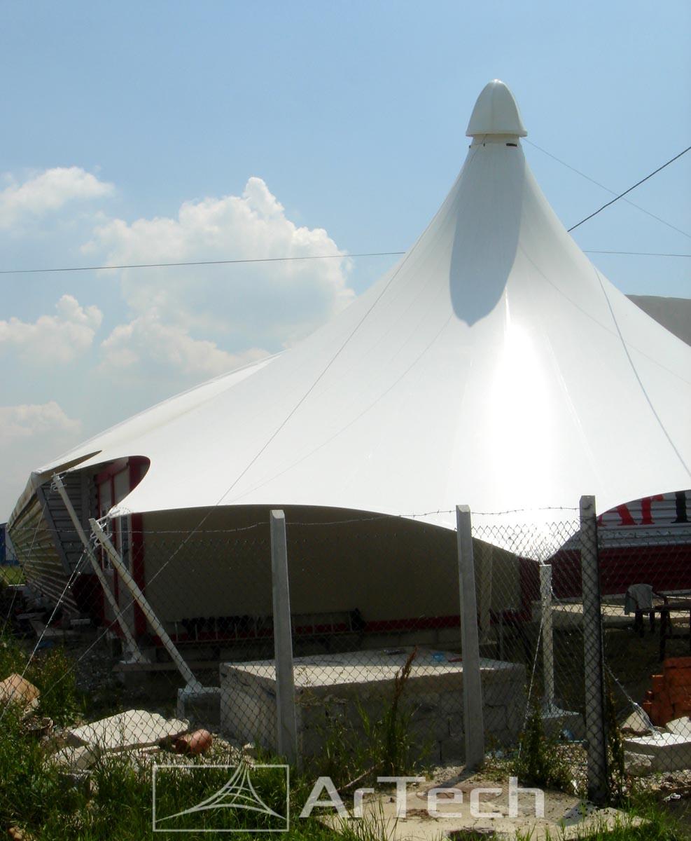 Nadstrešnica ARTECH DOBANOVCI, Srbija, 2017