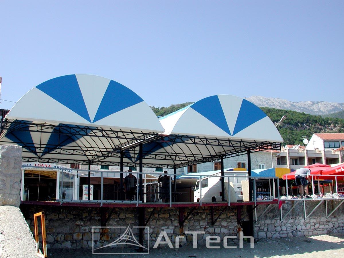 Nadstrešnica IGALO, Herceg Novi, Crna Gora, 2013