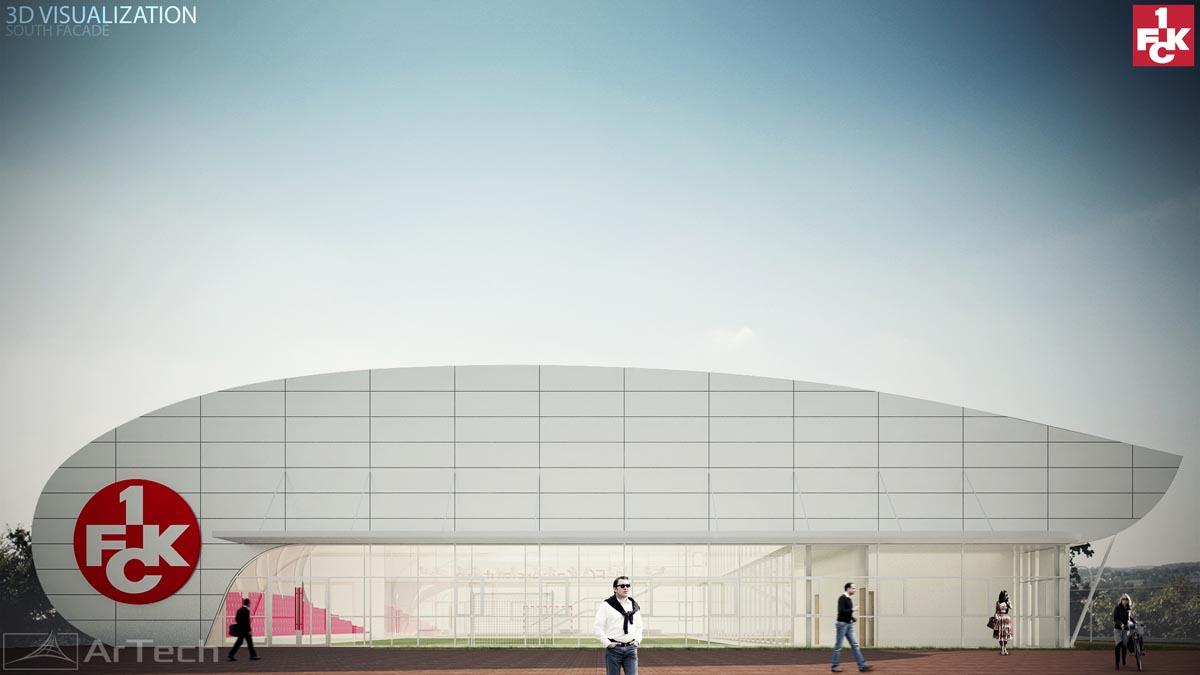 Idejni prijekat - STADION F.C. KAISERSLAUTERN, Nemačka, 2014