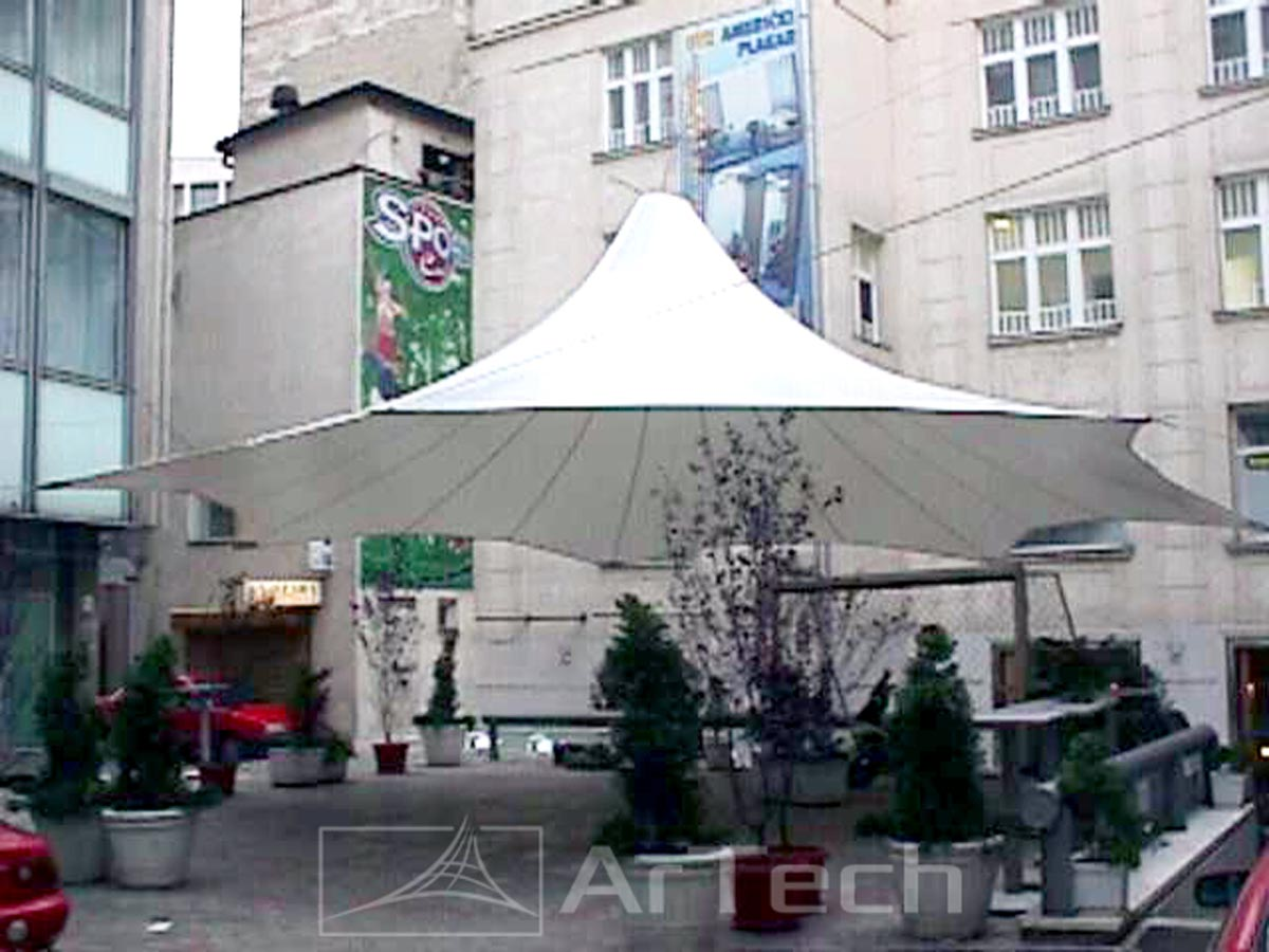 Nadstrešnica SPORT CAFFE, Beograd, Srbija, 2001