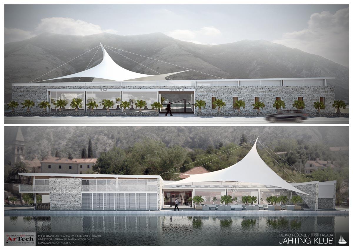 Idejni projekat MARINA KOTOR, Crna Gora, 2012